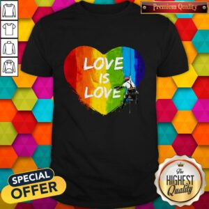 Official LGBT Love Is Love Shirt