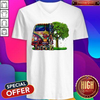 Official Peace Love Hippie V-neck
