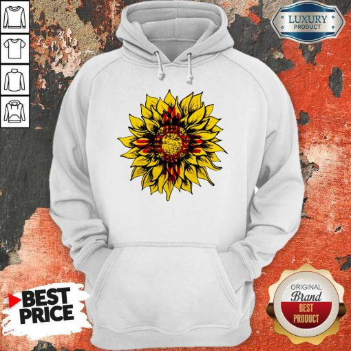Official Sunflower New Mexico Flag Hoodie