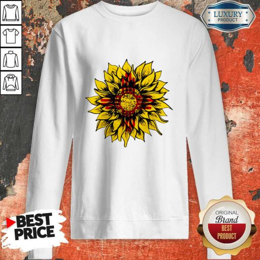 Official Sunflower New Mexico Flag Sweatshirt