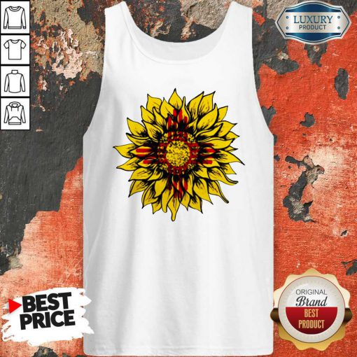 Official Sunflower New Mexico Flag Tank Top