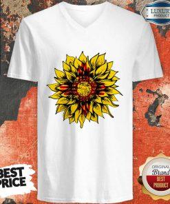 Official Sunflower New Mexico Flag V-neck