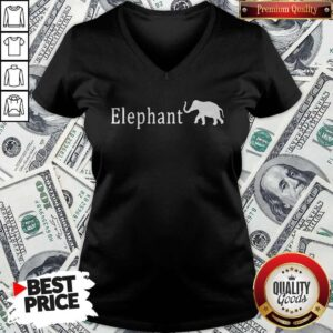 Official The Elephant V-neck