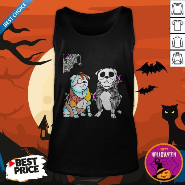 Official The Ghost Dog Halloween Tank Top