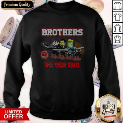 Perfect Lulz Of War Brothers To The End Sweatshirt