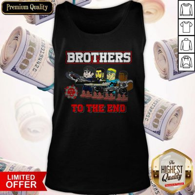 Perfect Lulz Of War Brothers To The End Tank Top