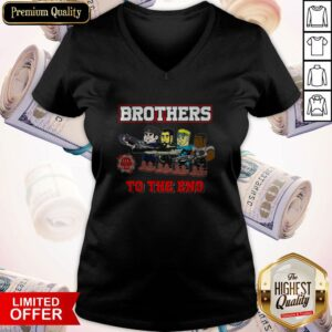 Perfect Lulz Of War Brothers To The End V-neck