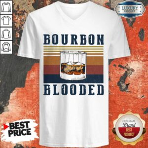 Perfect Wine Bourbon Blooded V-neck