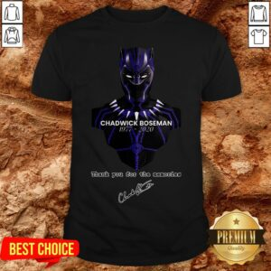 Rip Chadwick Boseman R.I.P To The Black Panther Wakanda Forever Shirt