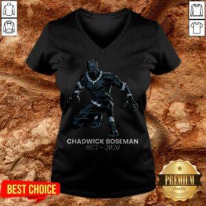 RIP Marvel Black Panther Chadwick Boseman V-neck