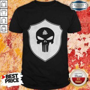 Skull Black Amon Amarth Logo Halloween Shirt