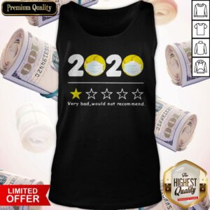 Top 2020 Very Bad Would Not Recommend Baseball Mask Tank Top