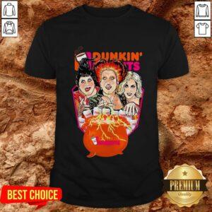 Top Hocus Pocus Dunkin Donuts Shirt