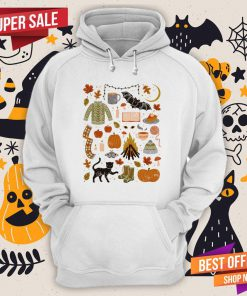 Autumn Nights Day Of The Dead Halloween Hoodie