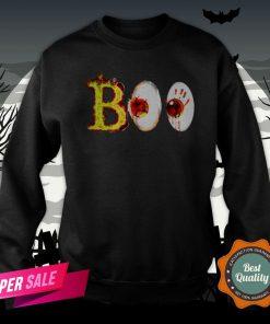 Boo Day Of The Dead Dia De Muertos Halloween Sweatshirt