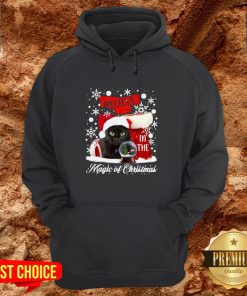 Cat Believe In The Magic Of Christmas Hoodie