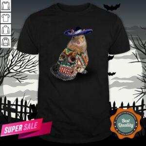 Day Of The Dead Squirrel Sugar Skull Halloween Shirt