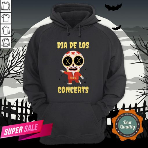 Dia De Los Concerts Day Of The Dead Sugar Skull Hoodie