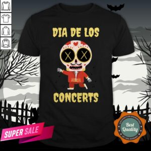 Dia De Los Concerts Day Of The Dead Sugar Skull Shirt