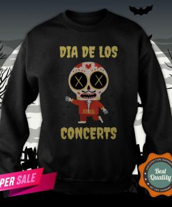 Dia De Los Concerts Day Of The Dead Sugar Skull Sweatshirt