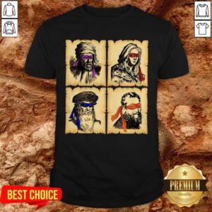 Donatello Raphael Leonardo Michelangelo Renaissance Master Ninja ShirtDonatello Raphael Leonardo Michelangelo Renaissance Master Ninja Shirt