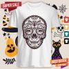 Eyes Sugar Skull Chromatic Aberration Day Of The Dead Shirt