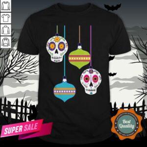 Feliz Navidad Sugar Skull Day Of The Dead Shirt