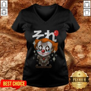 Funny Kawaii Clown V-neck