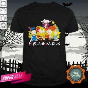 Halloween The Peanuts Friends Shirt