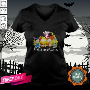 Halloween The Peanuts Friends V-neck