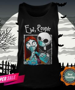 Jack Skellington And Sally Face Mask Ew People Tank Top