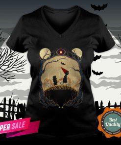 Journey Day Of The Dead Dia De Muertos Halloween V-neck