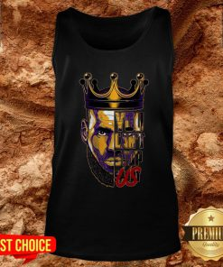 Lebron James King You Can't Stop Tank Top