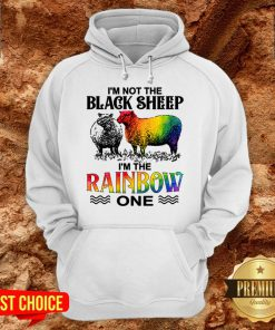 LGBT I'm Not The Black Sheep I'm The Rainbow One Hoodie