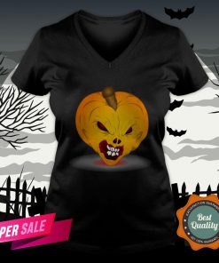 Official Pumpkin Halloween Day 2020 V-neck