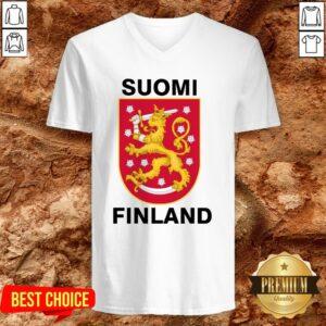 Perfect Suomi Finland V-neck