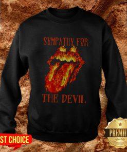 Rolling Stone Sympathy For The Devil Sweatshirt