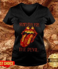 Rolling Stone Sympathy For The Devil V-neck