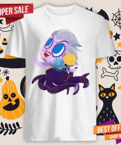 Sea Witch Muerta Sugar Skull Day Of The Dead Dia De Muertos Shirt