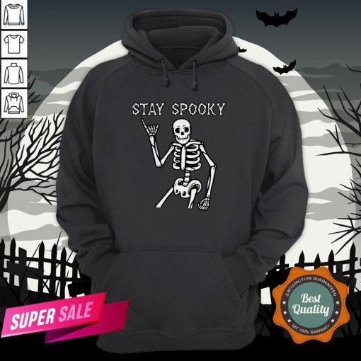 Stay Spooky Skeleton Halloween Day Hoodie