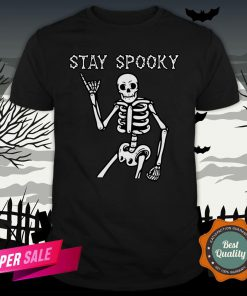 Stay Spooky Skeleton Halloween Day Shirt
