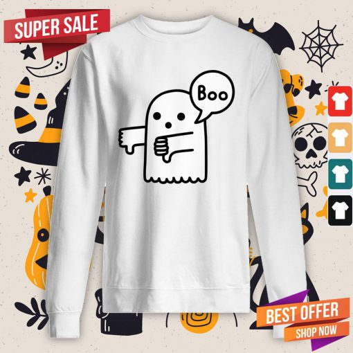 The Ghost Of Disapproval Boo Halloween Sweatshirt