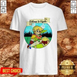 Top Welcome To Hyrule Cartoon Shirt