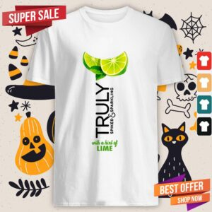 Truly Hard Seltzer Lime Halloween Costume Shirt