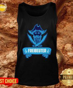 Beautiful Segeln Freibeuter Design Fur Segler Tank Top - Design By Potatotees.com