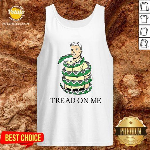 Beautiful Snake Tread On Me Tank Top - Design By Potatotees.com