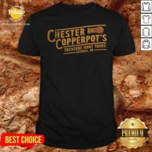 Chester Copperpot's Treasure Hunt Tours In Astoria Or ShirtChester Copperpot's Treasure Hunt Tours In Astoria Or Shirt