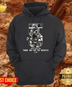 Deryk Engelland Thank You For The Memories Signature Hoodie - Design By Potatotees.com