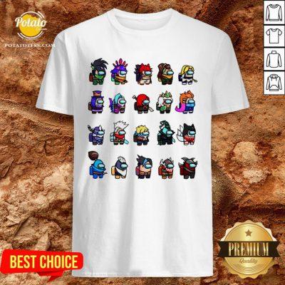 Funny Among Us Shirt - Design By Potatotees.com