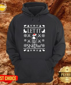 Good Game Of Thrones Jon Snow Let It Snow Ugly Christmas Hoodie - Design By Potatotees.com